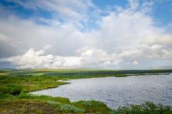 Parque de Pingvelir, Islândia, círculo dourado foto de stock royalty free
