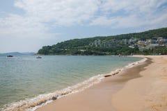 Parque de playa de Shenzhen Meisha Gold Coast Fotos de archivo