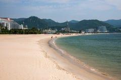 Parque de playa de Shenzhen Meisha Gold Coast Imagen de archivo libre de regalías