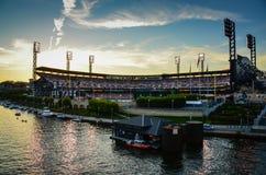 Parque de PNC - Pittsburgh, PA foto de archivo libre de regalías