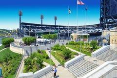 Parque de PNC - Pittsburgh piratea el estadio fotografía de archivo