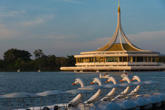 Parque de Rama 9 em Banguecoque, Tailândia Fotografia de Stock Royalty Free