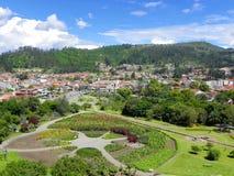 Parque de Rchaeological e museu Pumapungo, Cuenca, Equador imagens de stock royalty free