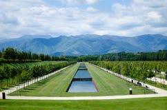 Parque de Reggia di Venaria, Italy fotos de stock