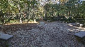 Parque de Retiro em Msdrid Fotografia de Stock