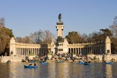 Parque de Retiro en Madrid Fotos de archivo libres de regalías