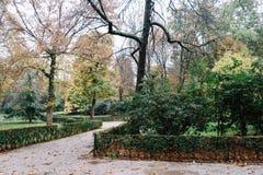 Parque de Retiro en Madrid Imágenes de archivo libres de regalías