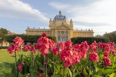 Parque de rey Tomislav en Zagreb Imágenes de archivo libres de regalías