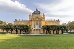 Parque de rey Tomislav en Zagreb Imagenes de archivo