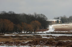 Parque de Richmond na neve Imagens de Stock Royalty Free