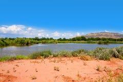 Parque de Rio Grande Nature Center State Fotografía de archivo