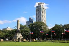 Parque de Rizal em Manila, Filipinas fotos de stock