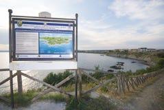 Parque de Rizzuto do Capo de Isola fotos de stock