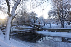 Parque de Romanin Imagenes de archivo