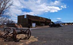 Parque de rv cerca de la asta de bandera, Arizona Fotografía de archivo libre de regalías