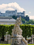 Parque de Salzburg Fotos de archivo