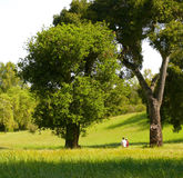 Parque de San Antonio do tempo de mola Imagem de Stock