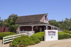 Parque de San Diego Old Town State Historic - SAN DIEGO/CALIFORNIA - 21 de abril de 2017 Imagen de archivo libre de regalías
