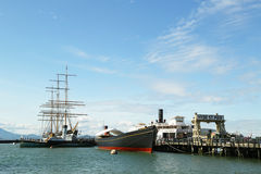 Parque de San Francisco Maritime National Historical fotos de archivo libres de regalías