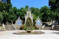 Parque de Santa Cruz, Коимбра (Португалия) Стоковые Фотографии RF