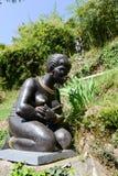 Parque de Scherrer en Morcote en Suiza Fotos de archivo libres de regalías