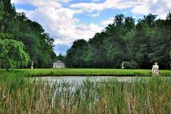 Parque de Schloss Fasanarie en Fulda, Hesse, Alemania Foto de archivo