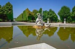 Parque de Schonbrunn Foto de Stock
