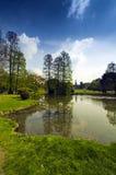 Parque de Sempione na cidade de Milão fotografia de stock royalty free