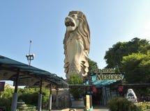 Parque de Sentosa Merlion Fotografía de archivo libre de regalías