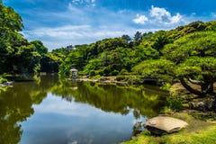 Parque de Sinjuku Gyoen imagen de archivo