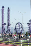 Parque de Sochi Ponte pedestre Foto de Stock Royalty Free
