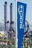 Parque de Sochi Puente Fotografía de archivo