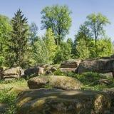 Parque de Sofiyivsky, ciudad de Uman, Ucrania Imagen de archivo
