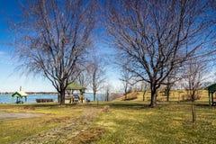 Parque de Sorel-Tracy na mola Fotografia de Stock Royalty Free
