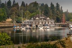 Parque de Stanley en Vancouver imagenes de archivo