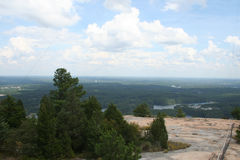 Parque de Stone Mountain en George Fotos de archivo