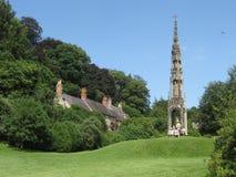 Parque de Stourhead imagen de archivo