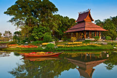 Parque de Suan Luang. imagem de stock