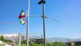 Parque de Teherán Ab-o Atash almacen de metraje de vídeo