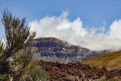 Parque de Teide Nacional Montañas de Tenerife Foto de archivo
