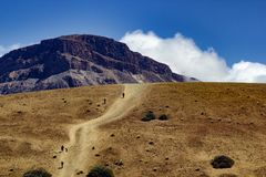 Parque de Teide Nacional Montañas de Tenerife Imagen de archivo