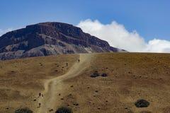Parque de Teide Nacional Montañas de Tenerife Imágenes de archivo libres de regalías