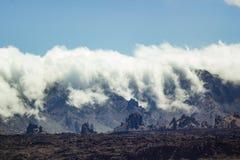 Parque de Teide Nacional Montañas de Tenerife Fotografía de archivo