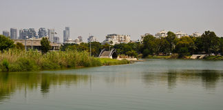 Parque de Tel Aviv fotografía de archivo libre de regalías