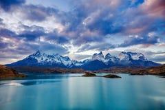 Parque de Torres del Paine Fotografía de archivo