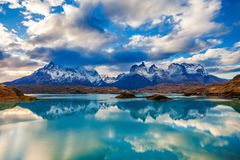 Parque de Torres del Paine Imágenes de archivo libres de regalías
