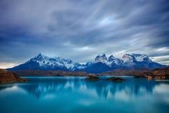 Parque de Torres del Paine Fotografía de archivo libre de regalías