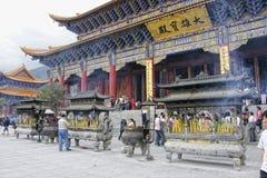 Parque de três Pagadas em Dali Foto de Stock Royalty Free
