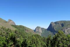 Parque de Tres Picos, selva tropical atlántica, el Brasil Imagenes de archivo