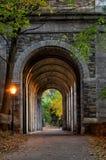 Parque de Tryon do forte, New York City EUA foto de stock